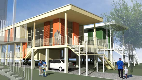 affordable housing design in New Orleans