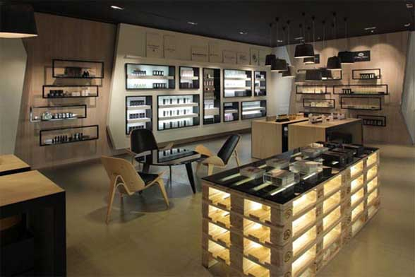 Crème de la Crème – Beauty Care Boutique Interior by Plazma ...