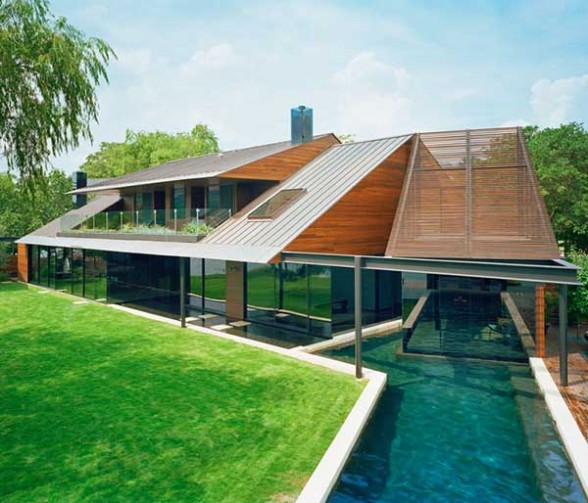 contemporary lake house design bercy chen studio