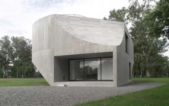 Concrete House design in Argentina