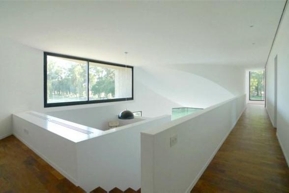 concrete house design large window