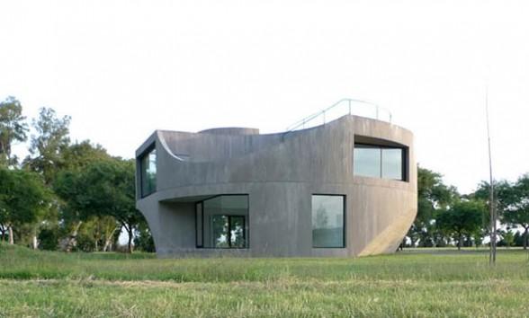 Concrete House architecture Argentina