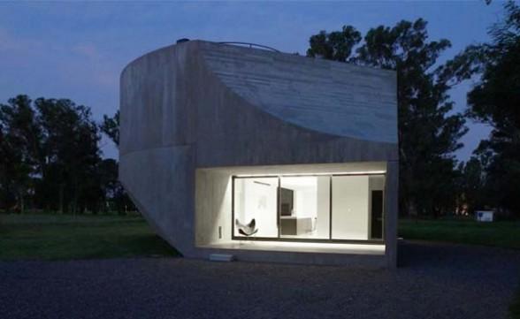 argentina concrete house design