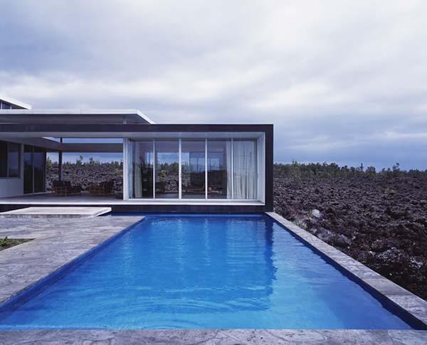 Modern Hawaiian house architecture