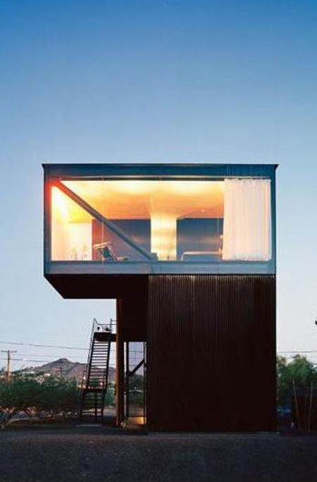 Box house design minimalist style