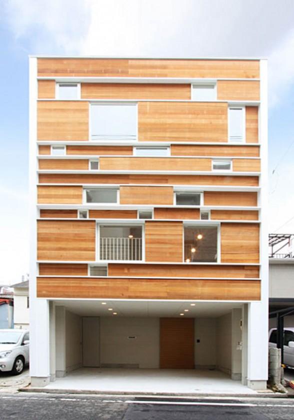 Japanese house architecture single family residence