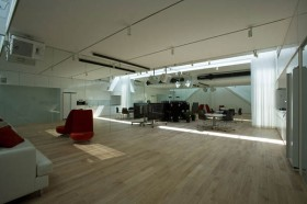 exercise room design @Dancing Living House by Junichi Sampei