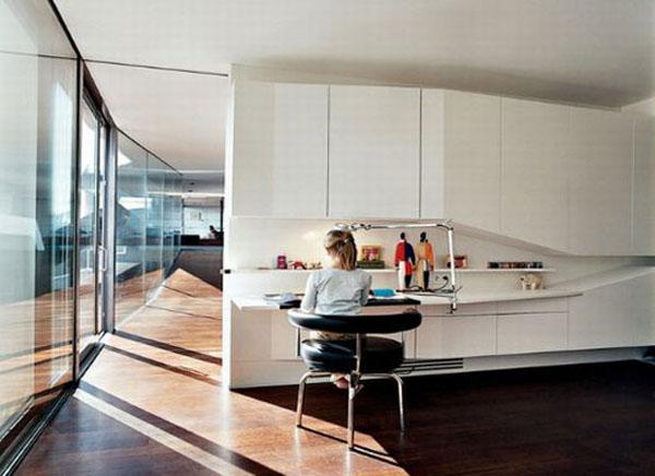 Modern Home Workstation Design View