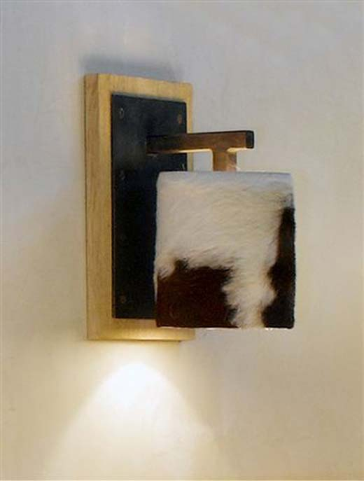 Cow Skin Lamps by SDA Decoration 2
