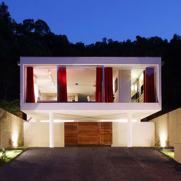 Home front interior design