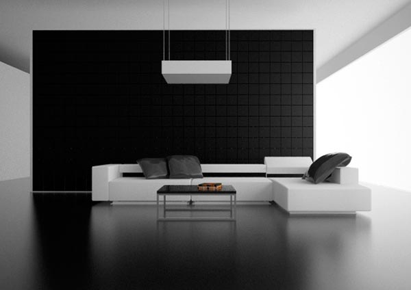 contemporary living room interior sofas