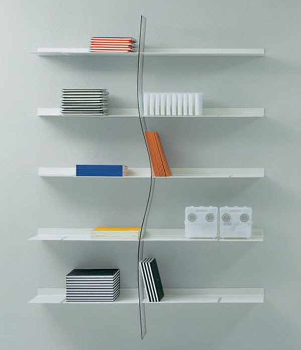 Shelving units home wall