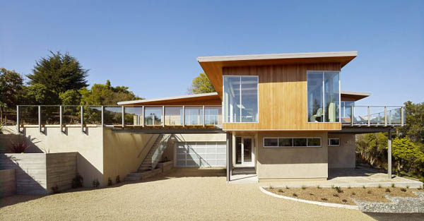 Sustainable Tiburon Bay House