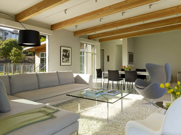 Sustainable home living room