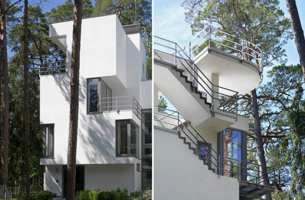 Three-story home architecture-design