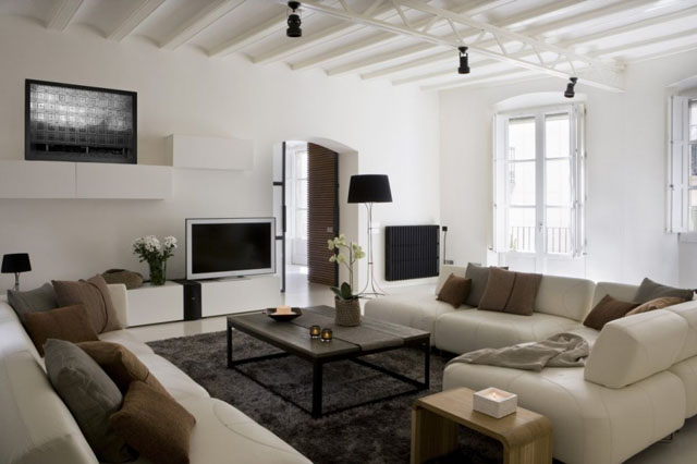 Living room-apartment interior