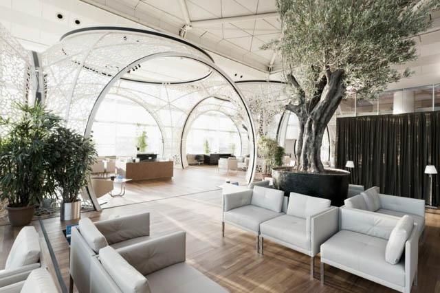 Interior design-Airlines lounge