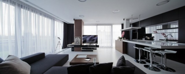 Apartment Interior Design-Square ONE