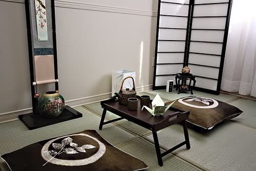 Asian Interior Design with Japanese Style
