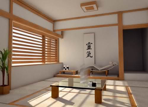 Japanese Style Asian Home Interior Design