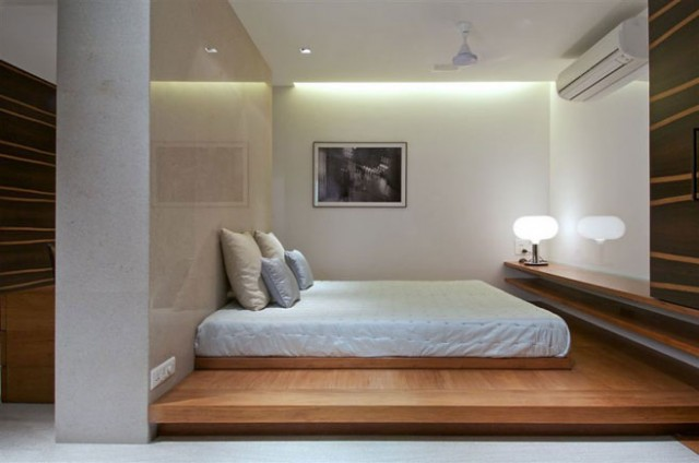 penthouse-bedroom design